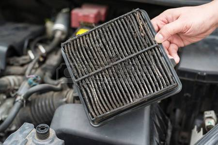 How to replace the air filter yourself